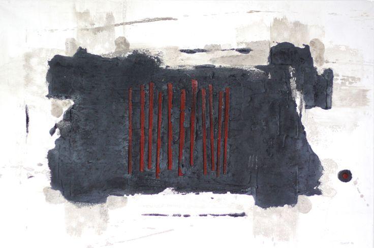 nith (2010) 120x80cm mixed media on canvas daniel soukup