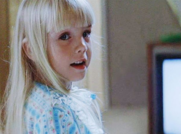 Poltergeist, Heather O'Rourke..watched this movie like a million times when I was a kid..lol