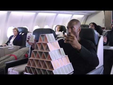 This one made me piss my pants! | Kobe vs Messi: Legends on Board - Turkish Airlines