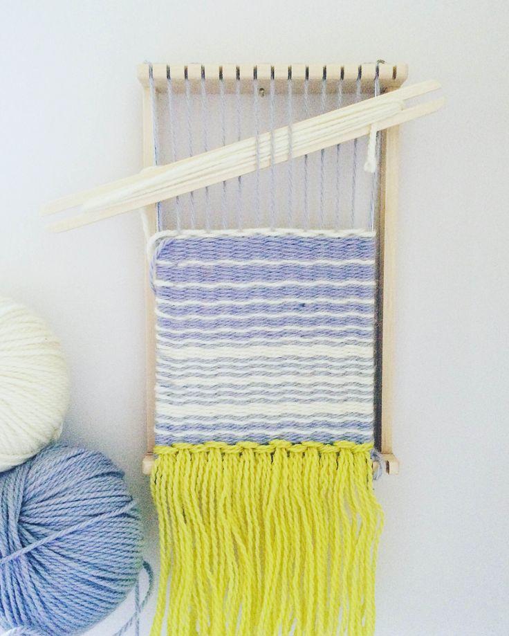 Learning to weave. Å veva det er  å elska.