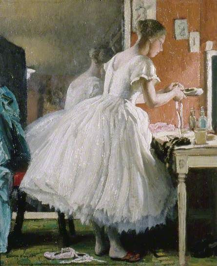 Laura Knight 1877–1970: The Ballet Shoe