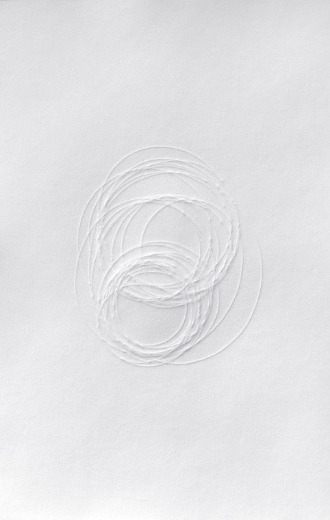 Franziska Furter | Gyre, 2012 | Monotype, embossing on paper