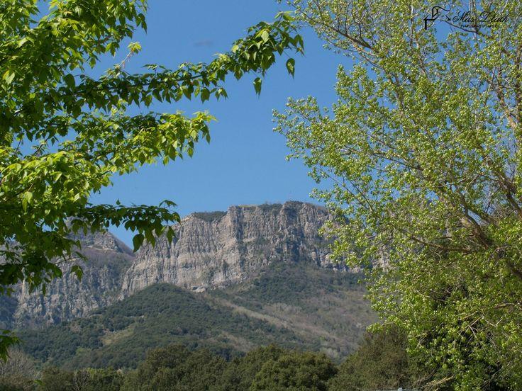 Muntanyes que veiem des del poble de Joanetes.