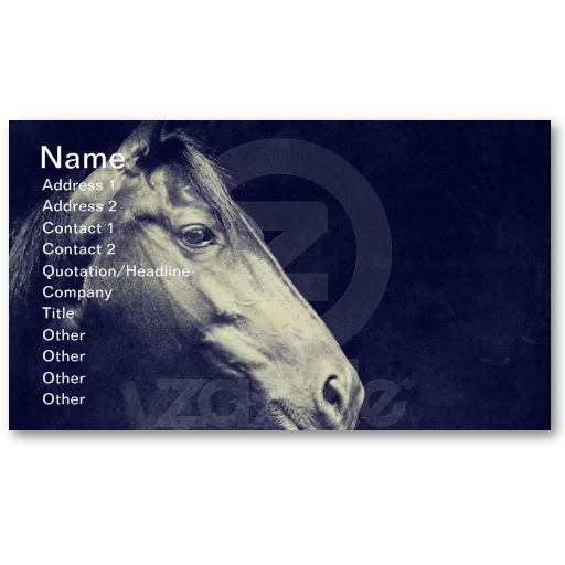 17 best images about business cards for the equine for Horse business cards