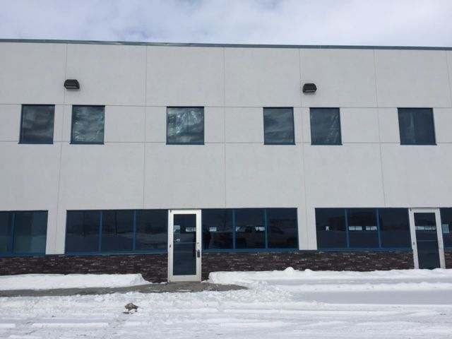104 10101 118 Street Grande Prairie, AB #L090217  & #L090209 FOR SALE OR FOR LEASE Brand new industrial condo w/ precast concrete walls. 16X14 OH door. Dedicated trailer parking and exceptional yard space. Spacious bay w/ option for mezzanine. Highly visible. L090205. Dale Williams 780-830-1317. $19.50/sq. ft. + Costs. Op. OR $774,900