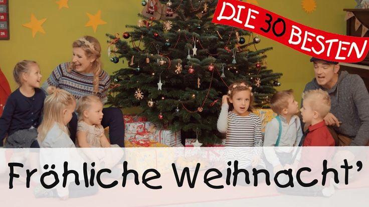 Fröhliche Weihnacht überall - Singen, Tanzen und Bewegen || Kinderlieder