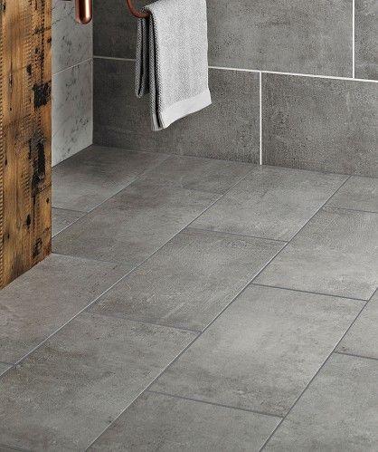 Cool Tekno Grey Tile  Topps Tiles