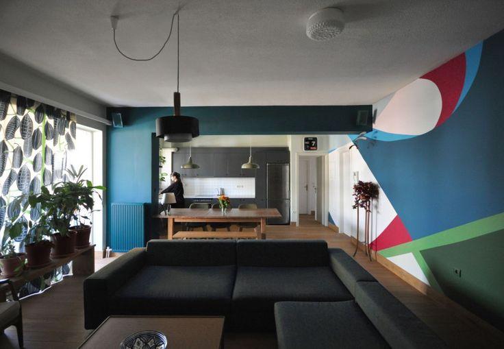 Διαμέρισμα στο Χολαργό: Άποψη του καθιστικού
