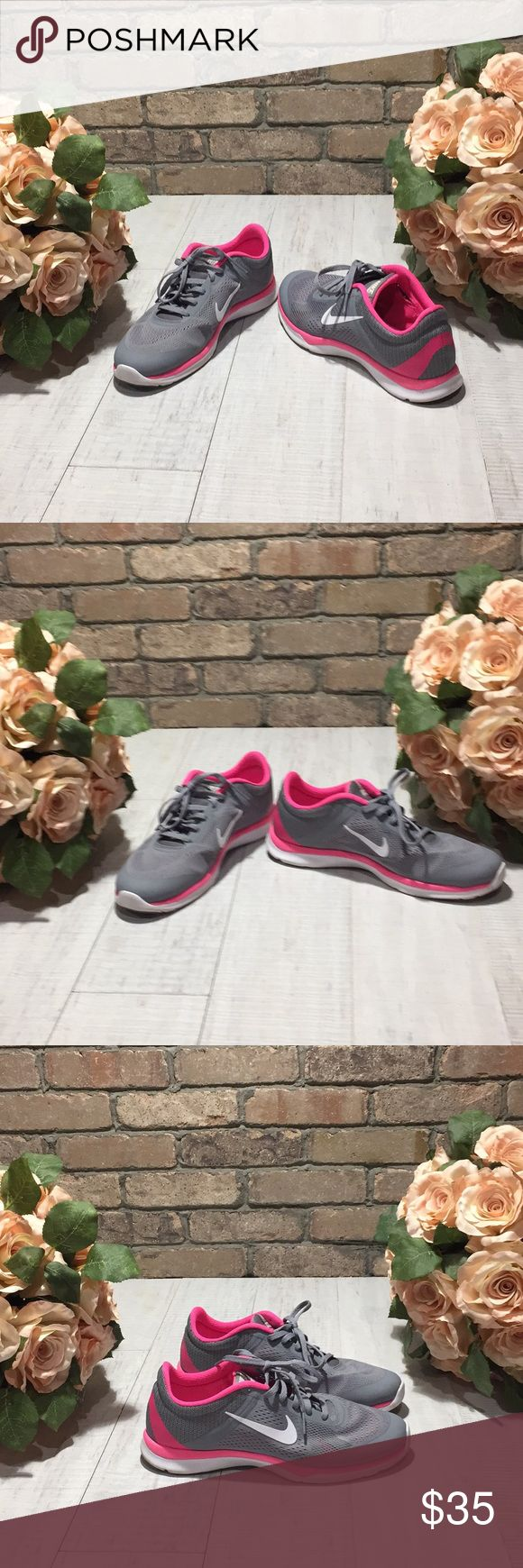 🌺 Nike Woman Training Sneaker 🌺 Nike training shoes, kick up your feet and hit the gym or street in style , breathable fabric, soft fabric lining offers a great in-shoes feel, flexible cushioning. Nike Shoes Sneakers