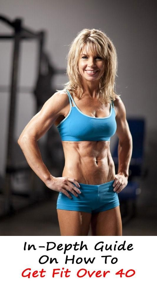 In-Depth Guide On How To Get Fit Over 40. od range of choices. Worth re-pinning!This fitness training is broken down by body type and provides a go