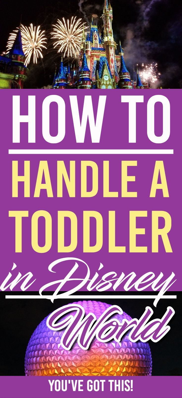Headed to Disney World with Toddlers? Here's some great tips for you to make your Disney World Experience a great one! | DIsney | Disney World | Travelling with Toddlers |