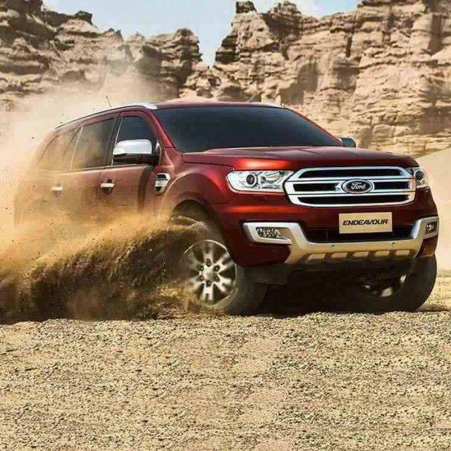 Ford Endeavour Suv Gets Smaller Diesel Engine But More Power
