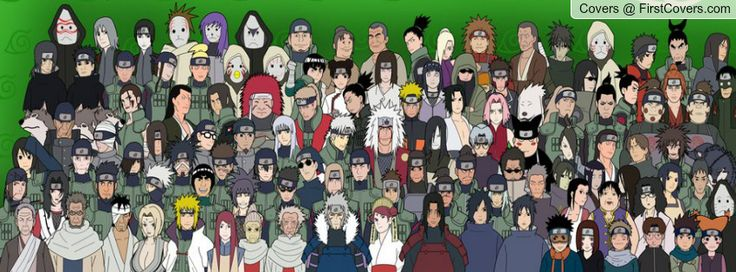 Naruto Shippuden All Characters