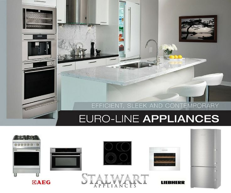 Buy More, Save More!!! Get Up to 15%OFF when you purchase 5+ Euro-line #appliances at Stalwart Appliances. Find more rebates on #AEG and #Liebherr appliances on our page Today!