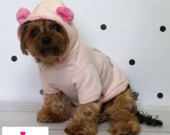 Handmade with ❤️ clothes for Dogs. Dog Clothes. Dog Hoodies. Hoodie For dogs. Pet Clothing. Dog Sweater. Puppy Hoodie. Clothes for dogs by SisiDogCouture.etsy.com