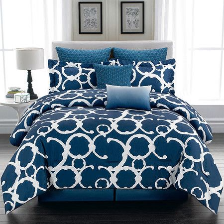 8-Piece Shana Comforter Set