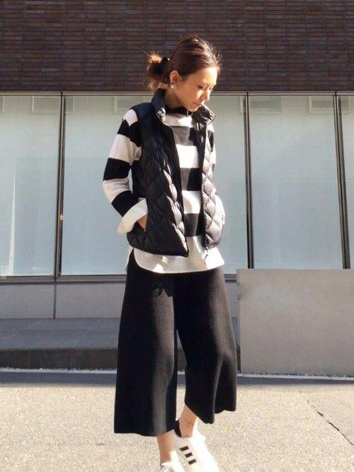 コートの下用の薄手ダウンベストは春先にそのまま着用♡春夏ファッションのダウンベストコーデを集めました!