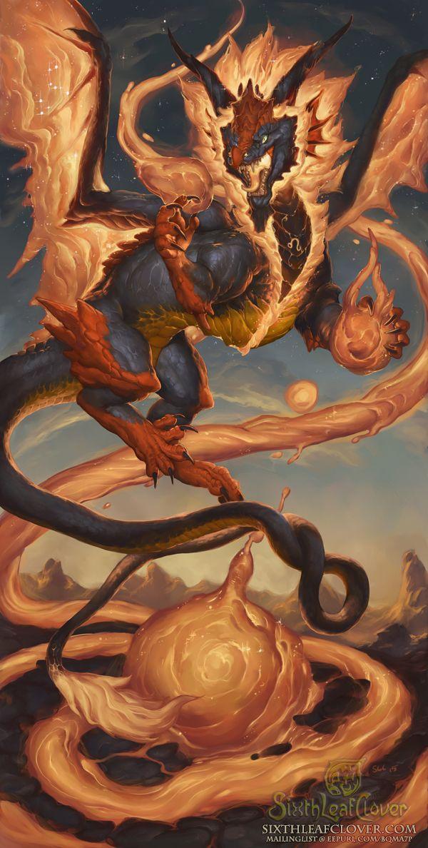 2016 Zodiac Dragons Leo by The-SixthLeafClover.deviantart.com on @DeviantArt