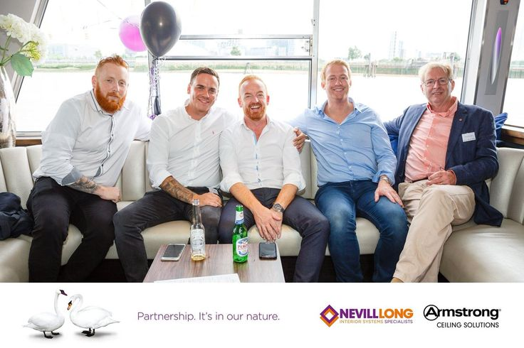 """""""Tony Lettis Armstrong, Dave Bonner @encon_group, Ross McGouran Interior Building Products, Shaw Montgomery, CCL Interiors Ltd"""""""