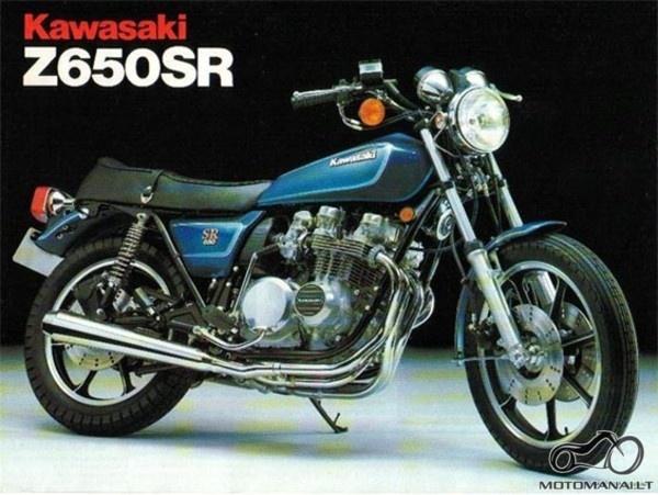 Kawasaki Z650SR