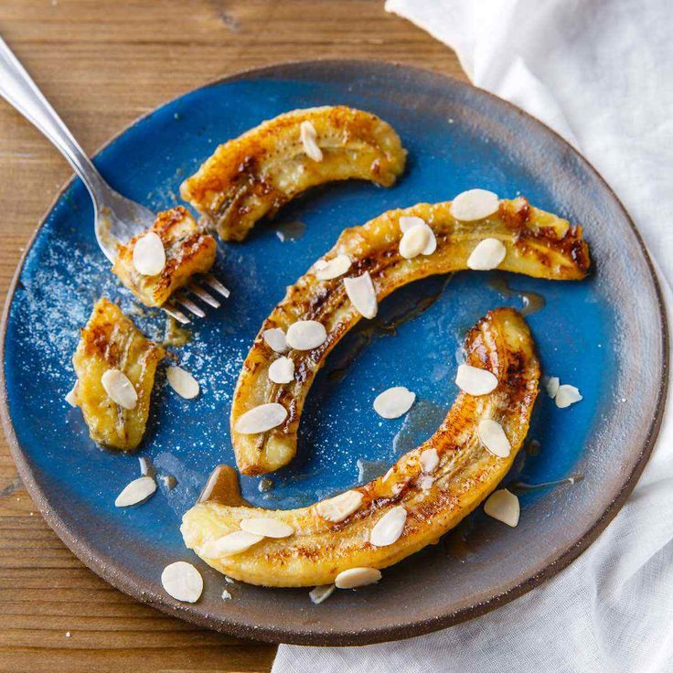 Adding a sweet and sticky mixture of honey and cinnamon to fried bananas makes an already dessert choice into something that's absolutely incredible.