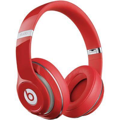 Beats Studio Over-Ear Headphone, Red