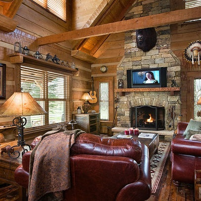 western living room furniture decorating. Traditional Living Room Log Cabin Decorating Design Pictures Remodel Decor And Ideas Page 16 Western Furniture