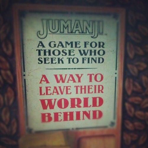Playing Jumanji #NoBigs