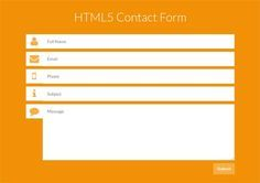 25 Best Free CSS, HTML Contact Form Templates + Tutorials - Design Sparkle