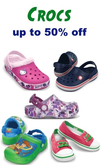 Crocs for the Family ~ up to 50% off! {14.99+} #shoes