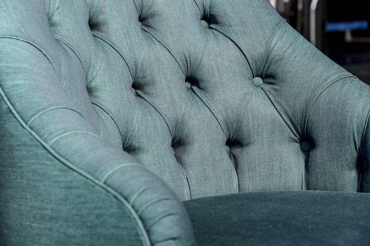 Vanessa Capitonnè - denim armchair for New Craft - XXI Triennale design Milano
