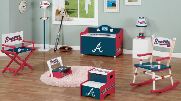 31 best atlanta braves caves and rooms images on pinterest for Rooms to go kids atlanta
