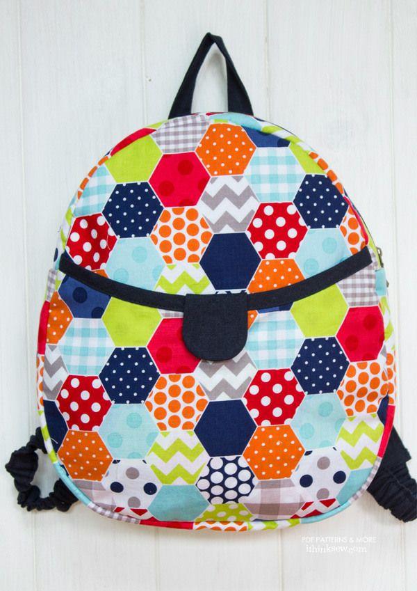 Harper Kids Backpack PDF Pattern