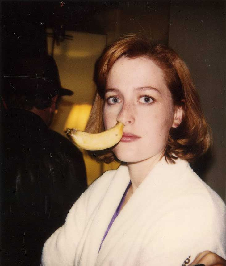 The banana is out there