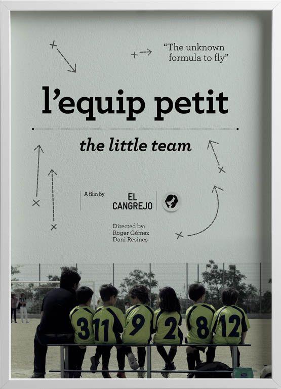 L'Equip Petit (España, 2011). Cortometraje sobre un equipo de fútbol infantil que nunca ha marcado un gol, pero que sigue jugando cada partido con ilusión y alegría.