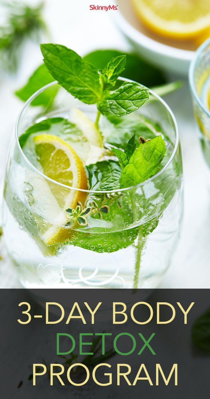 Its time to reboot your body the healthy way with this 3-Day Body Detox Program. Start today!
