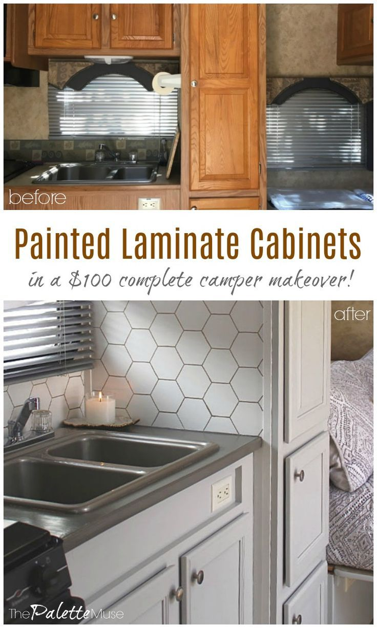 How To Paint Laminate Cabinets Without Sanding Painting Laminate Cabinets Laminate Cabinets Diy Kitchen Remodel