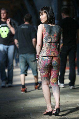 Body tattooed girl tattooed women tattoos sexy tattoos tats tattoos