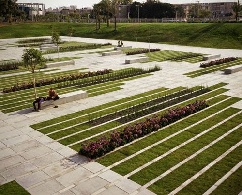 park landscape design | ... project in israel as green city park design with beautiful green park