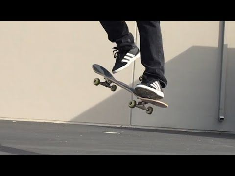 HOW TO OLLIE LATE FS SHOVE THE EASIEST WAY TUTORIAL