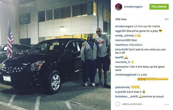 49ers WR Eric Rogers Surprises Mom with New Car