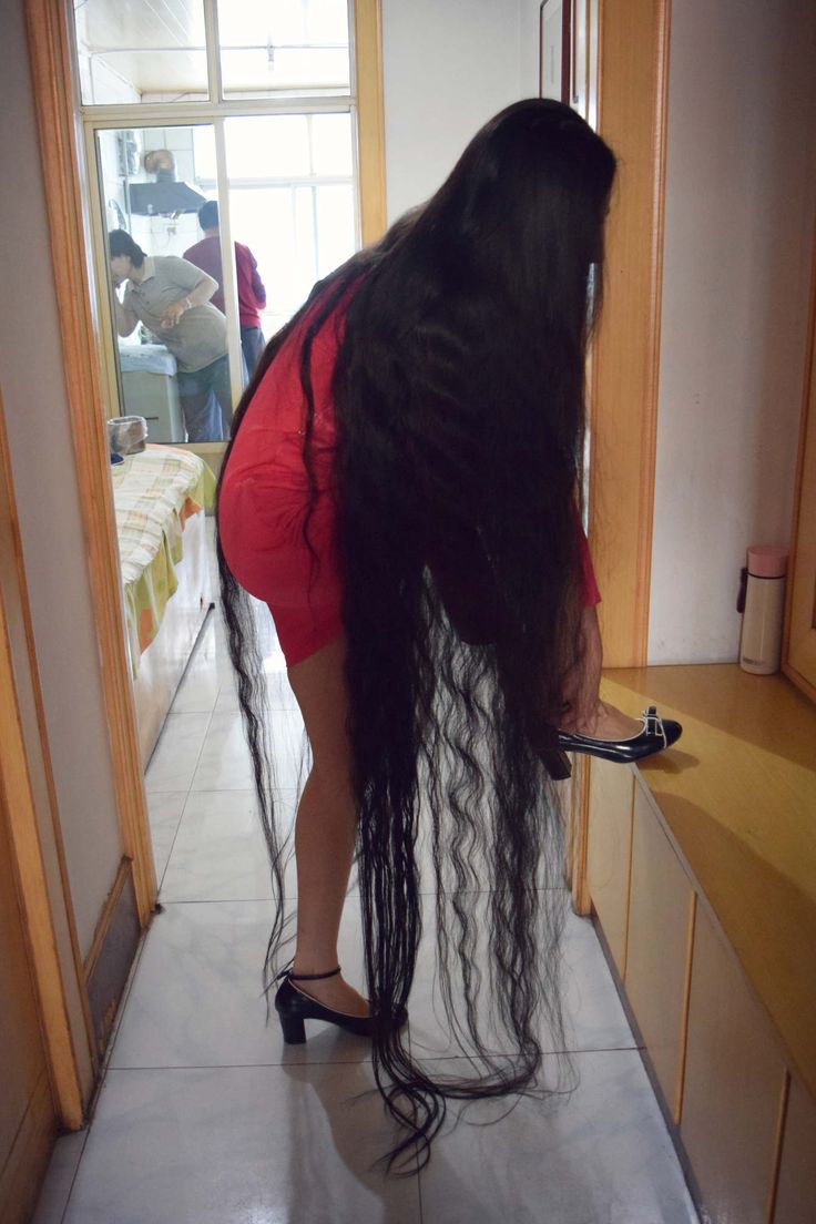 Kitchen 崔雨 Cui Yu Rambut Panjang Long Hair Styles