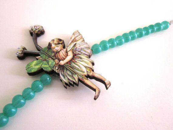 Christmas Gift Fairy Bracelet  Green Bracelet by catyflowerpower