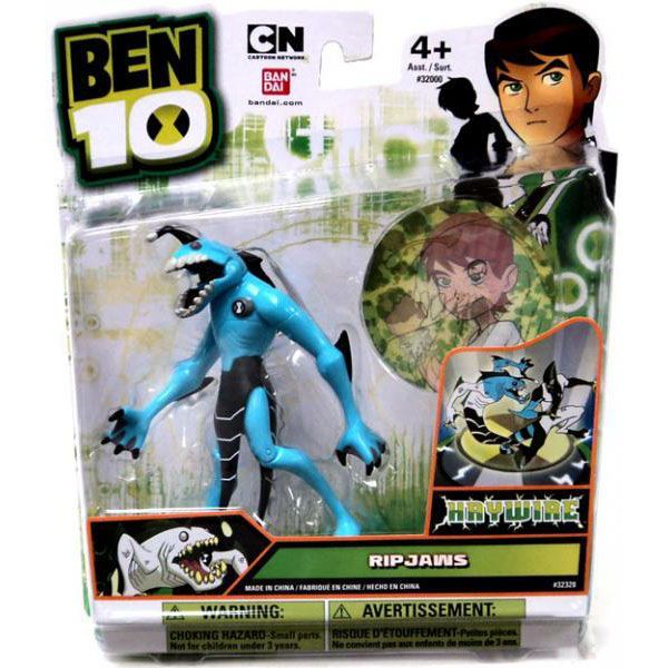 Ben 10 Ultimate Alien Action Figure - Ripjaws (Haywire), 39.9  #actionfigure #ben10 #ben10ultimatealien #ripjaws