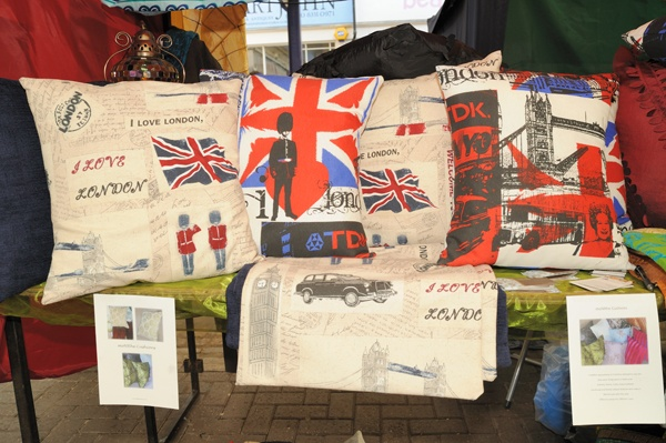 Union Jack cushions from moNRhe cushions  £13 small, £15 large