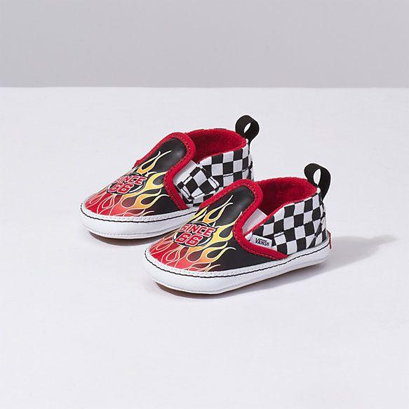 Infant Checker Slip On V Crib | Shop Toddler Shoes
