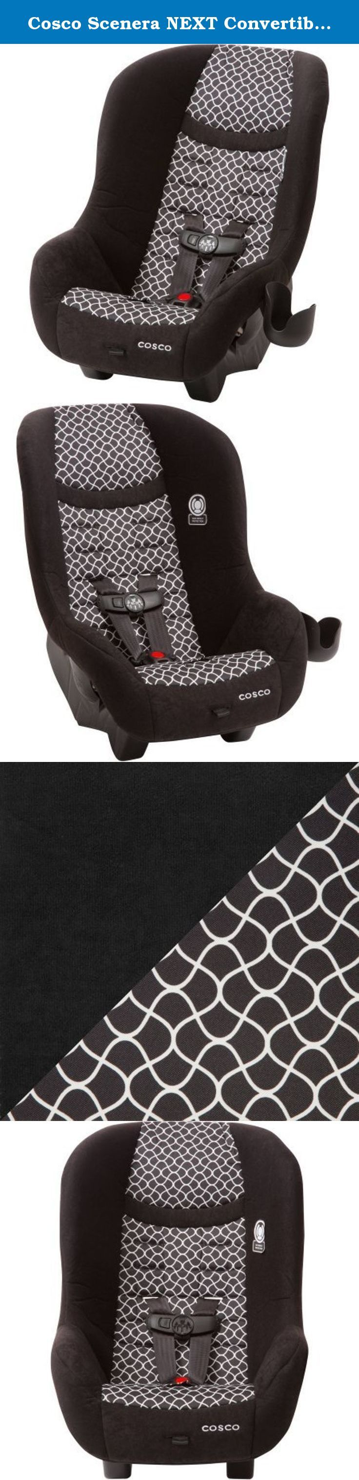 Cosco scenera next convertible car seat otto it keeps kids safer with side impact protection built into the headrest and a five point harness th