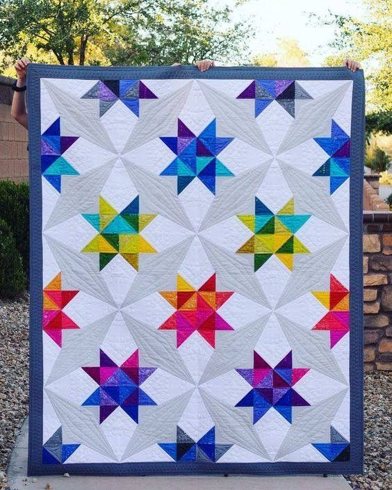 Pin By Diane Artz On Quilts I Like Star Quilt Patterns