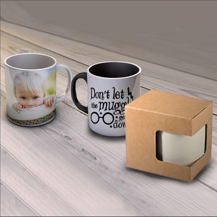 Crea la tua Tazza personalizzata e regala un pensiero unico e pratico. é possibile stampare la tua foto, una frase o un collage di foto, un regalo utile e simpatico per tutte le occasioni.