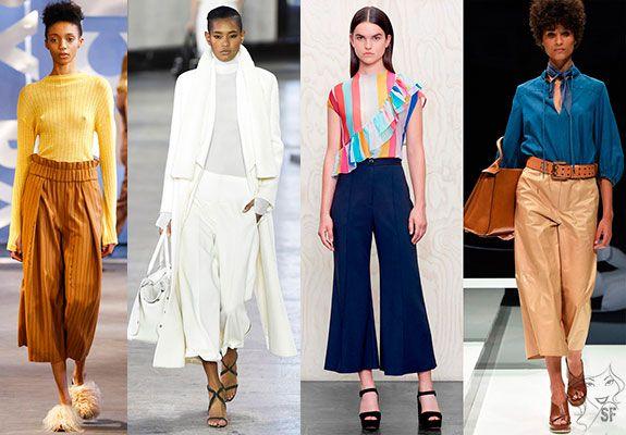 Самые модные брюки осенне-зимнего сезона 2017 2018   SuperFrau